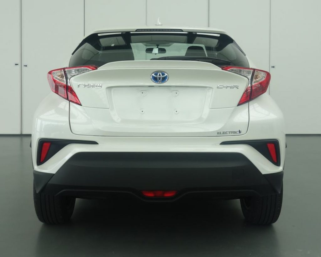 Toyota C-HR electric from China rear