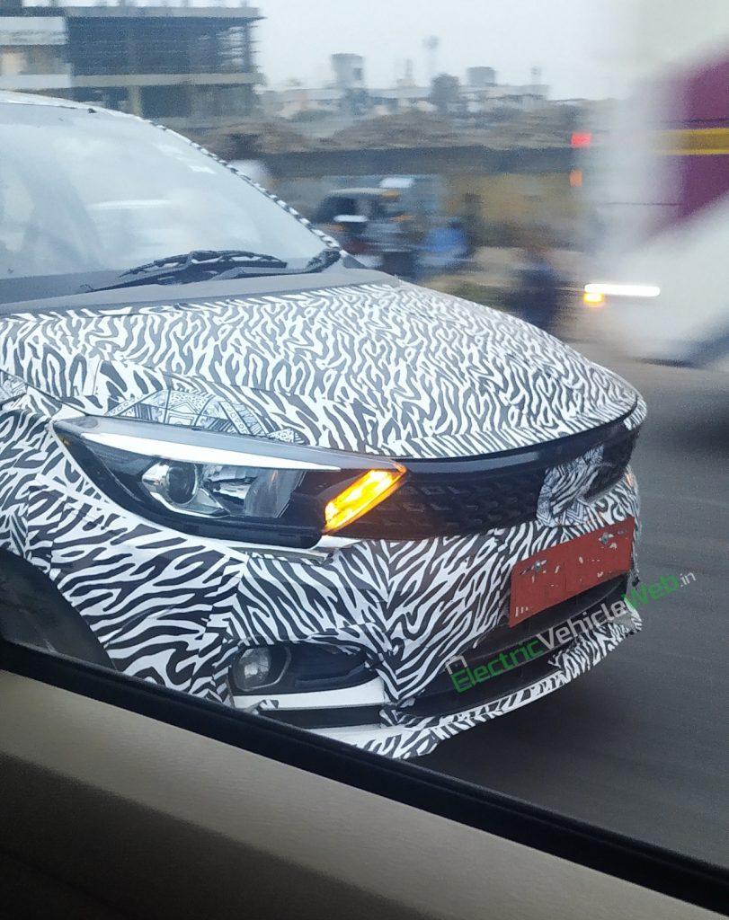 Tata Tigor 2020 model facelift testing