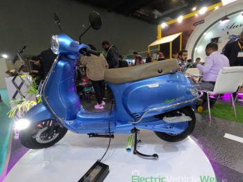 Benling Aura electric scooter launched at Rs 99,000