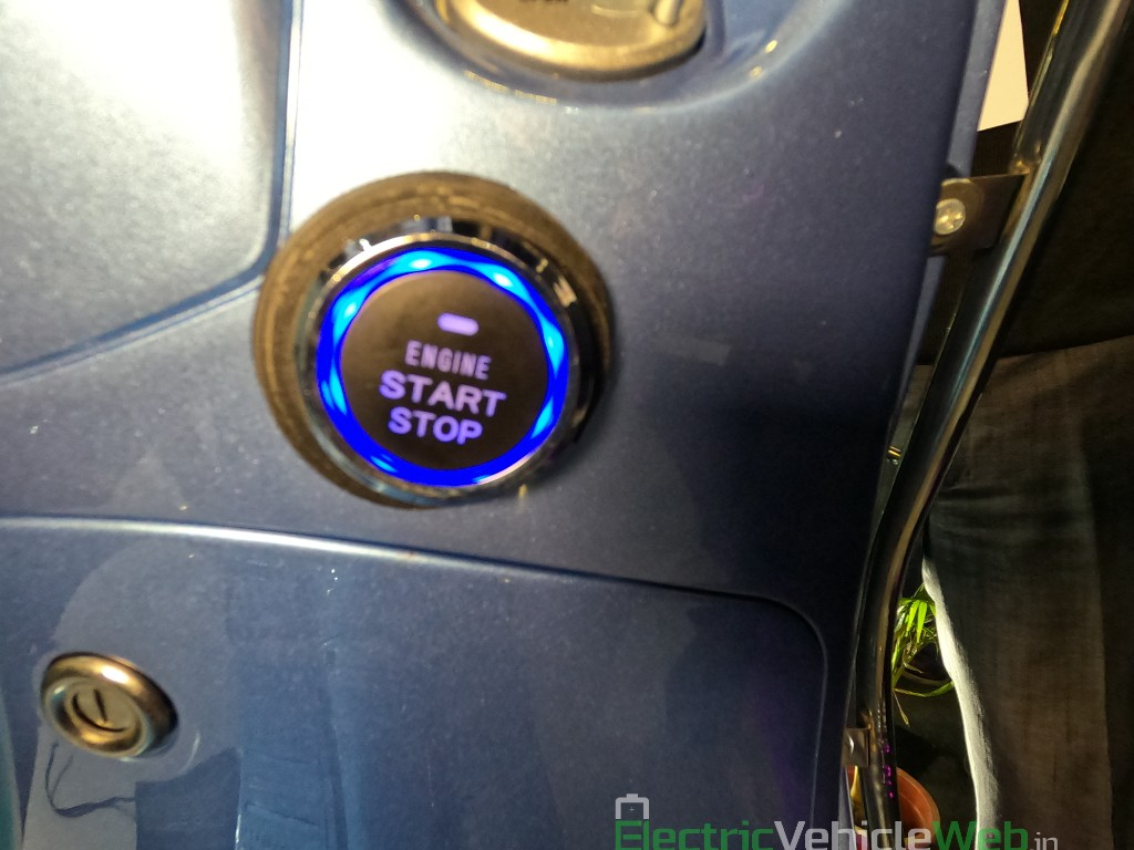 Benling Aura start stop button