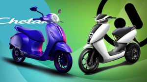 Bajaj Chetak Electric vs Ather 450