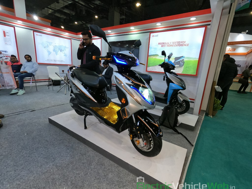 DAO EVTech GT electric scooter at EV Expo 2019