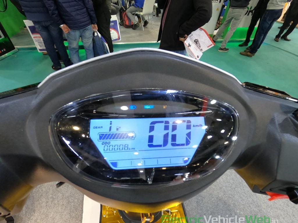 DAO EVTech GT electric speedometer instrument console