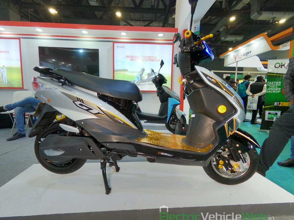DAO EVTech GT electric scooter