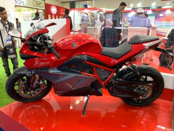 Energica Ego electric bike showcased at Delhi Auto Components Show 2020 [Update]