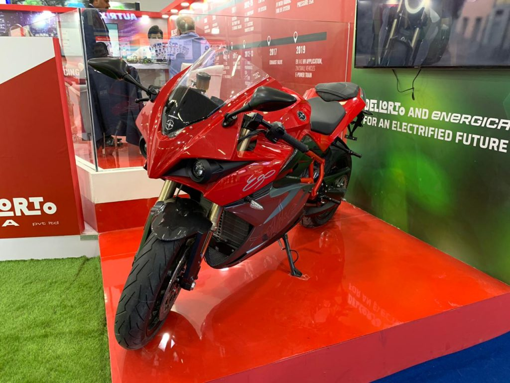 Energica Ego in India front view