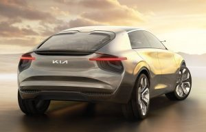 Kia Imagine EV Concept Rear view