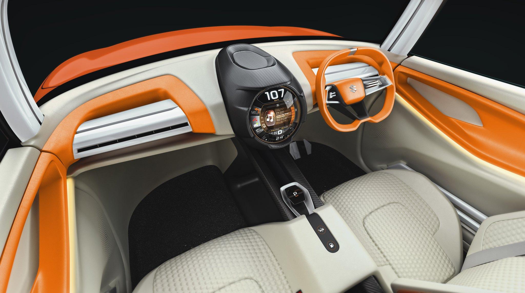 Maruti Future S interior