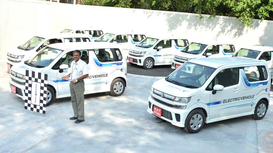 Suzuki Wagon R electric testing India