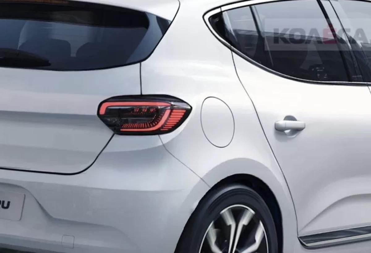 Renault Sandero 2020 render rear