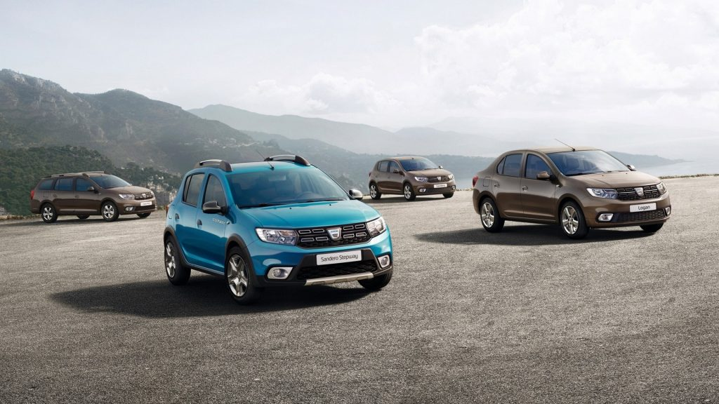 Renault Sandero Stepway, Renault Logan and Renault Logan MCV