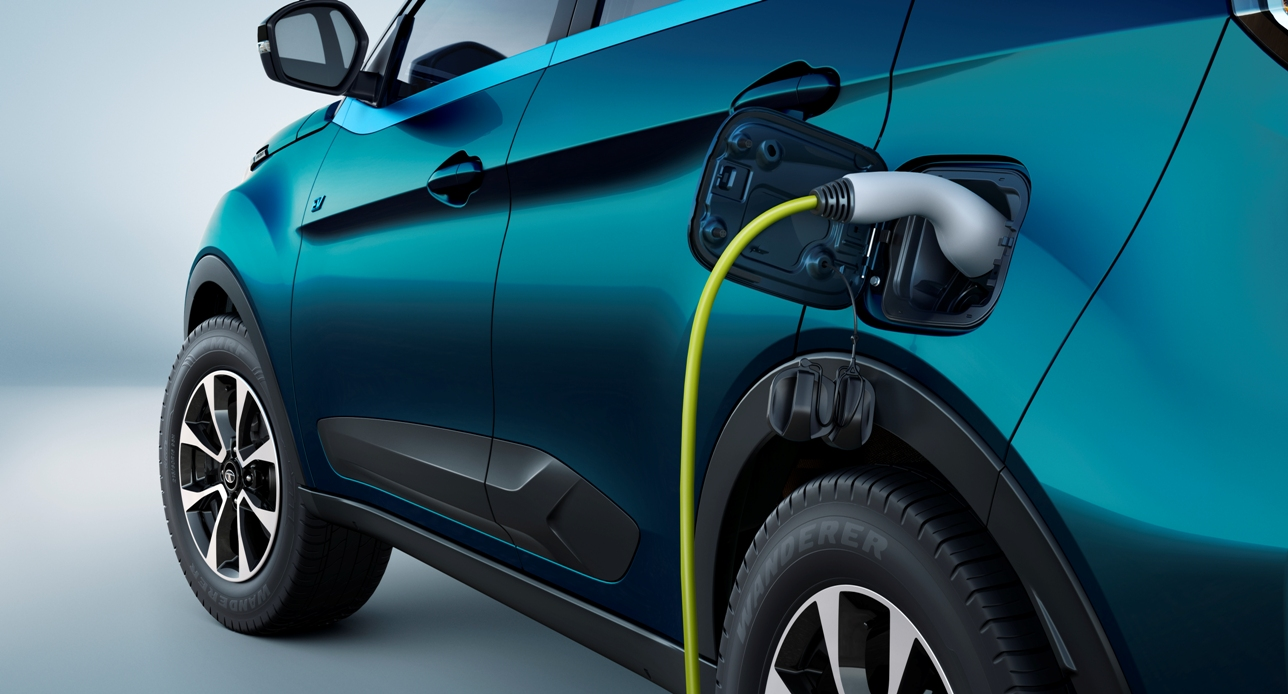 Tata-Nexon-EV-battery charging