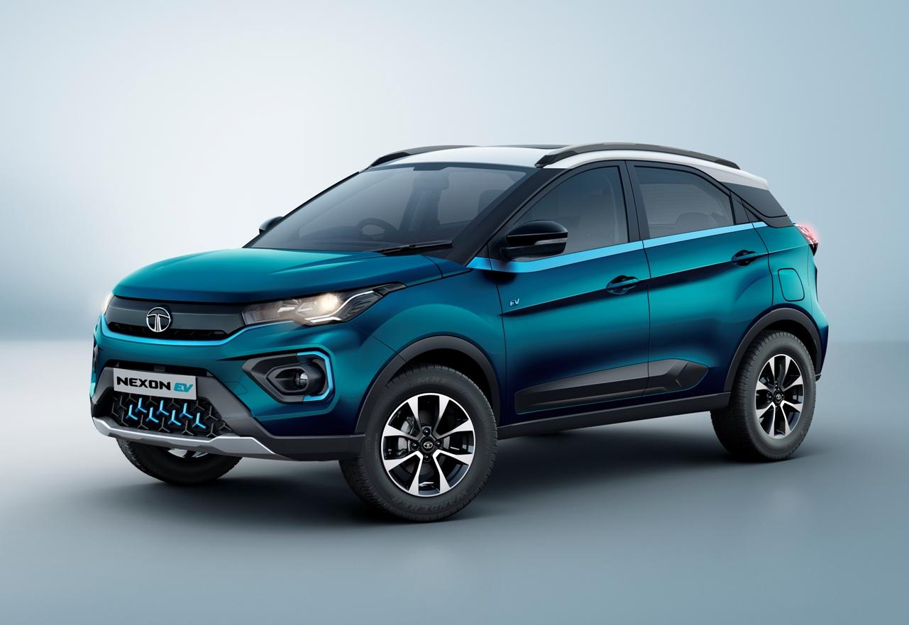 Tata-Nexon-EV-Front-three-quarter-view