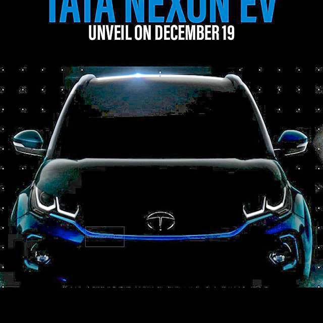 Tata Nexon EV teaser 19 December release
