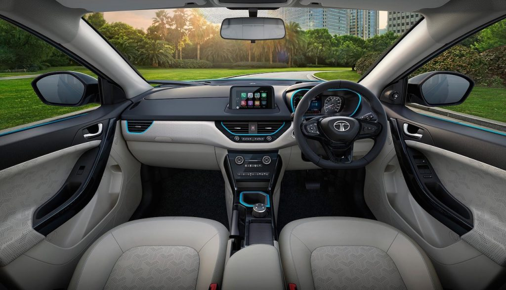 Tata Nexon electric interior