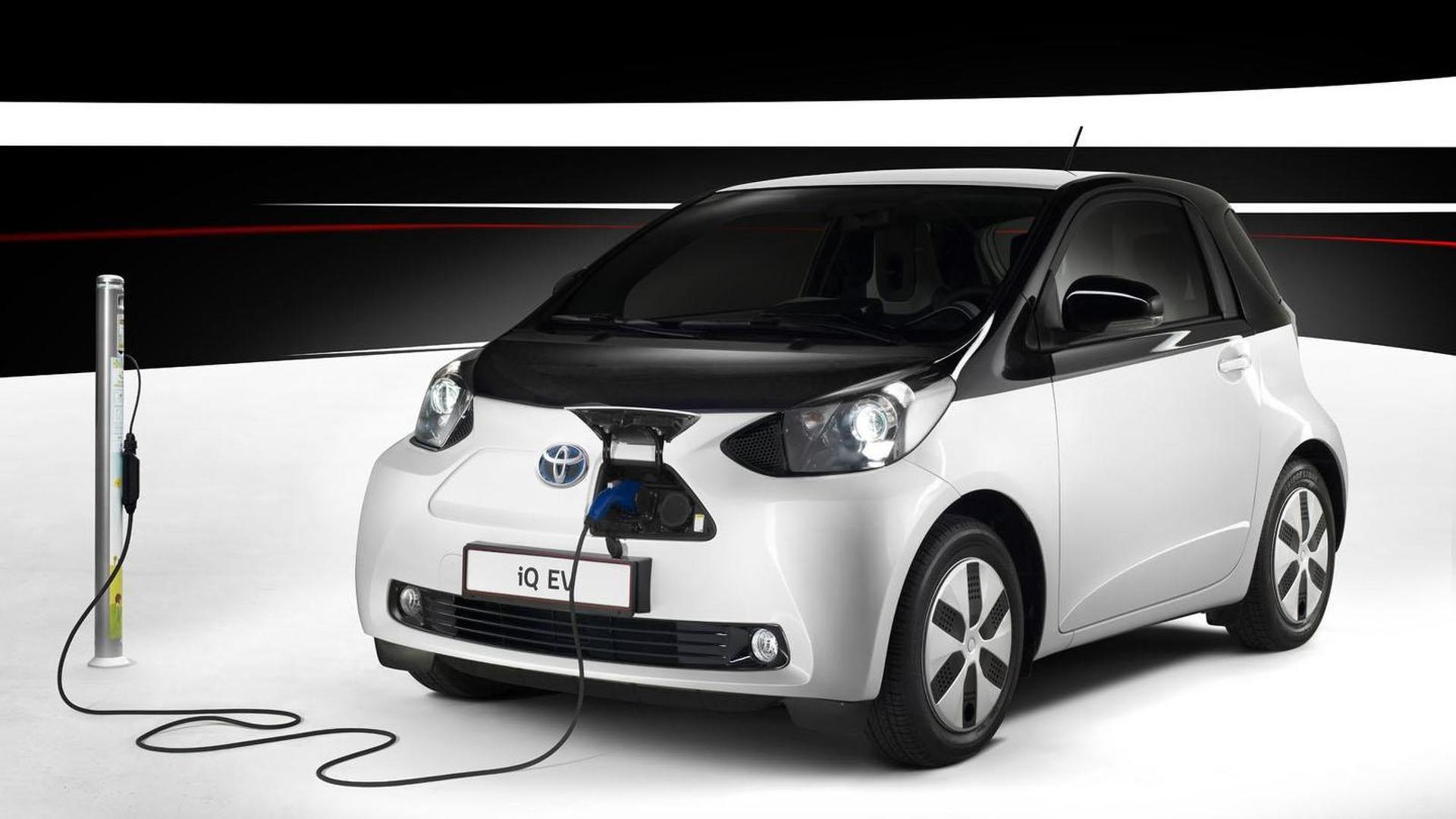 Toyota eQ electric car