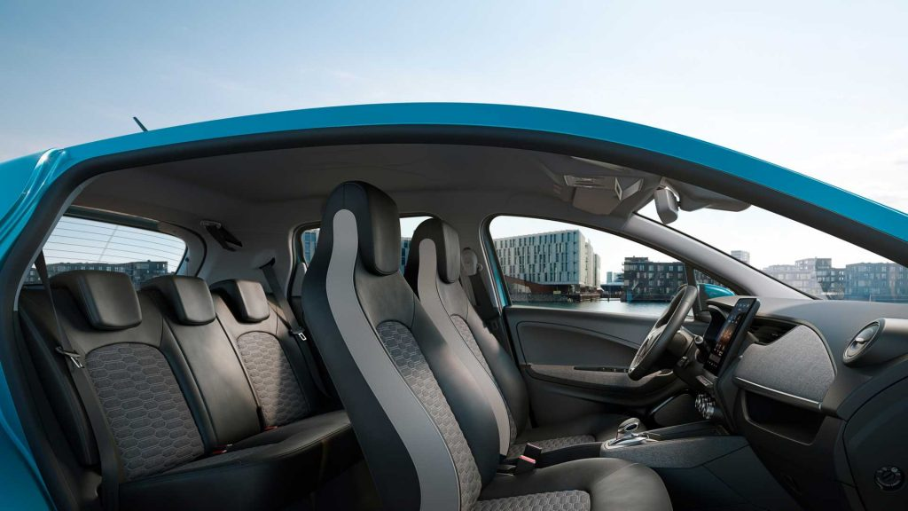 2019 Renault Zoe cabin press image