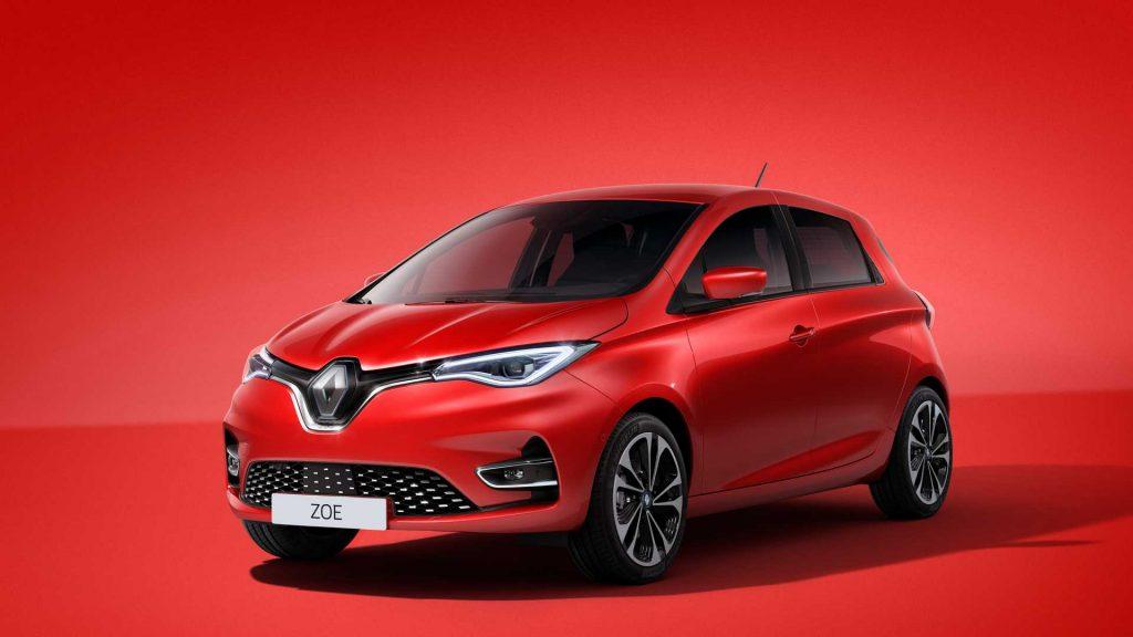 2019 Renault Zoe press image