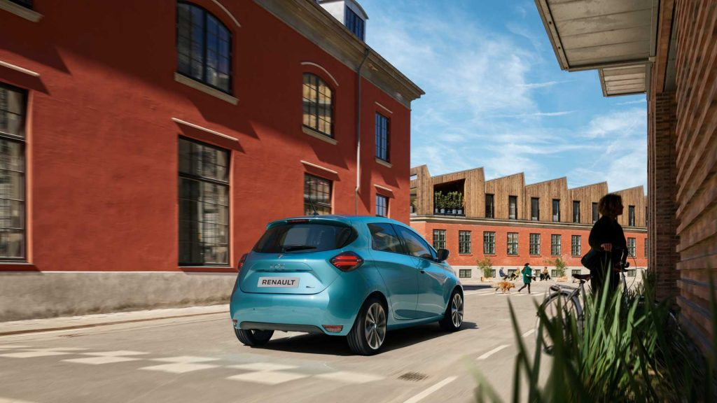 2019 Renault Zoe rear press image