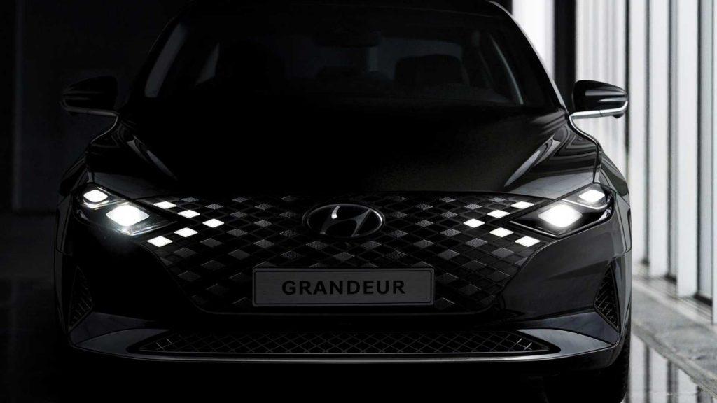 2020 Hyundai Grandeur front