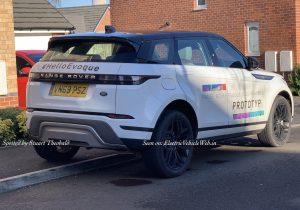 2020 Range Rover Evoque PHEV (Plug-in Hybrid)