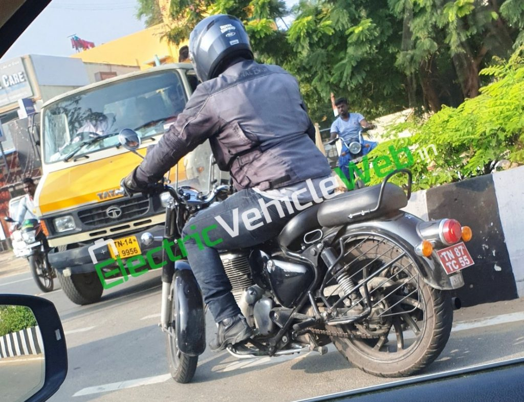All-new Royal Enfield Classic 350 testing (2)