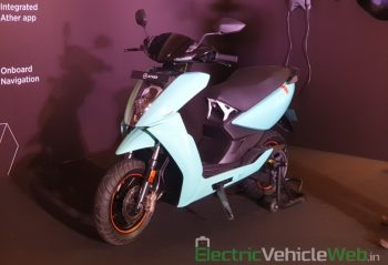 Ather 450 Plus price slashed by INR 9,010, new specs revealed
