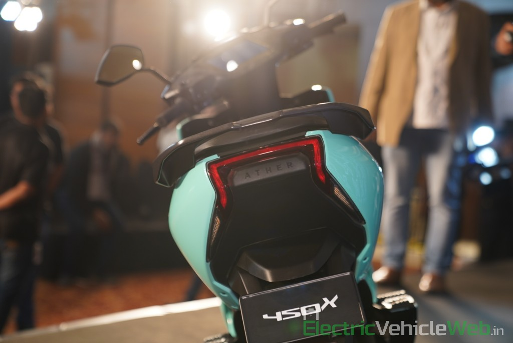 Ather 450X rear view