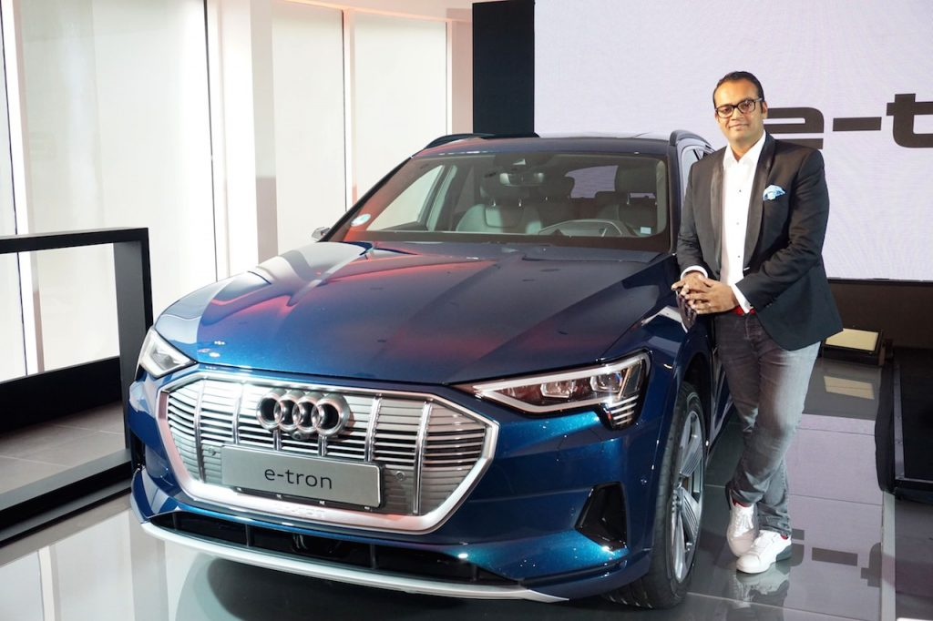 Audi e-Tron electric car in India