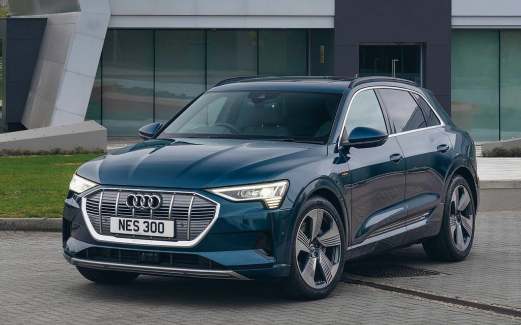 Audi e-tron - One of the confirmed upcoming Electric Cars in India
