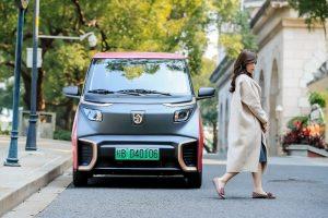 Baojun E200 front