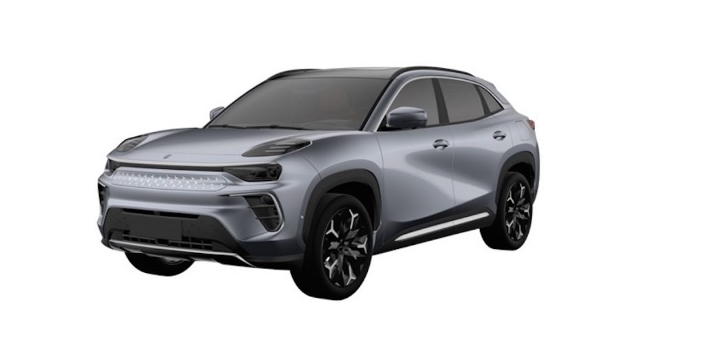 Chery S61 electric car SUV front