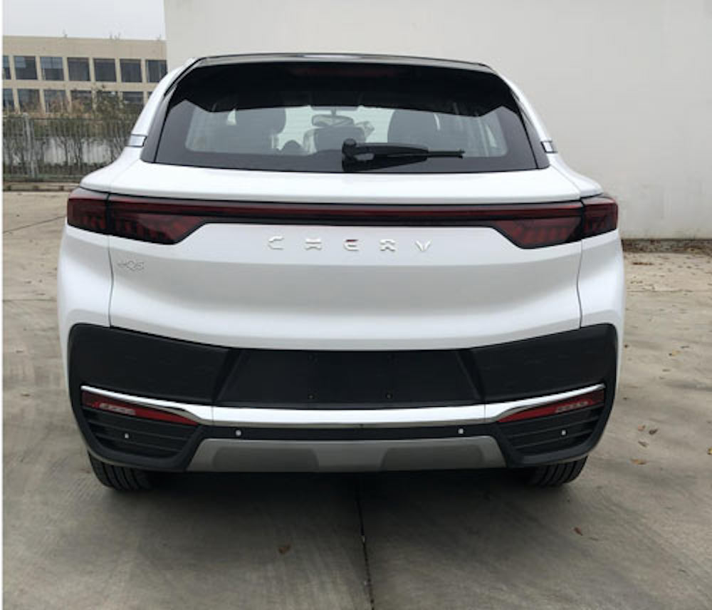 Chery eQ5 production model electric SUV rear