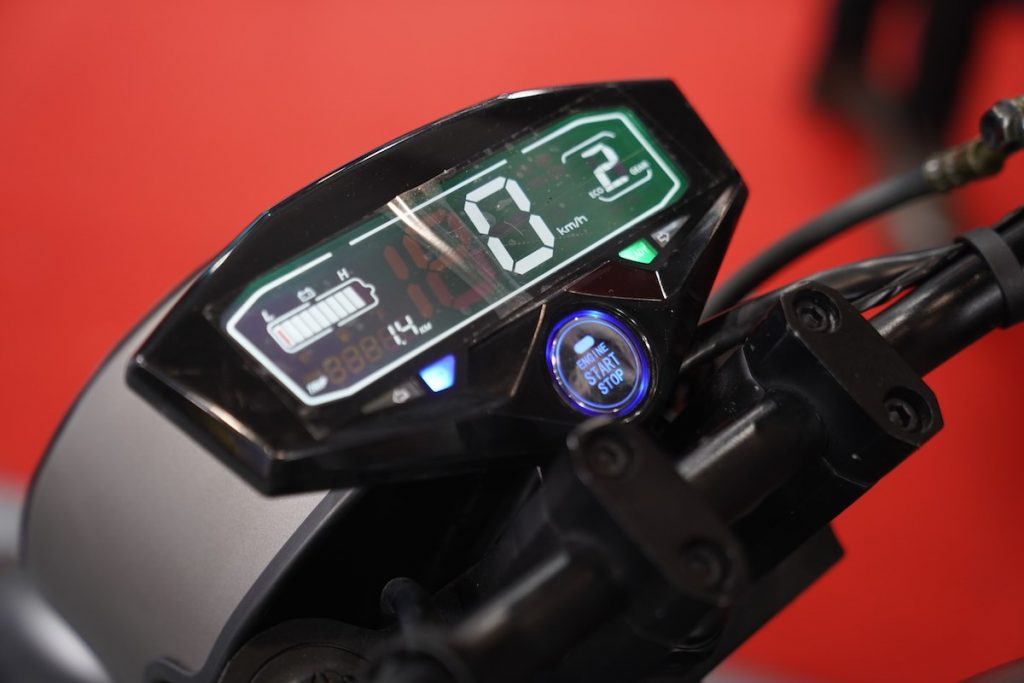Devot Motorcycle prototype display