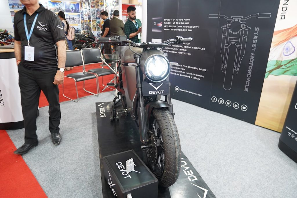 Devot Motorcycle prototype front
