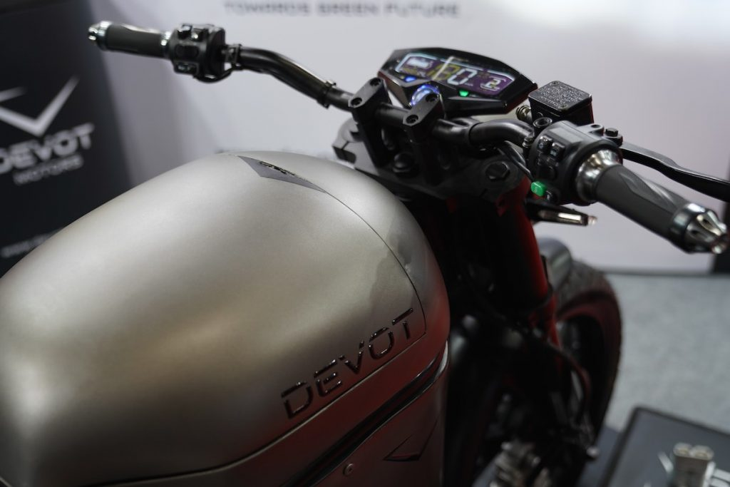Devot Motorcycle prototype fuel tank