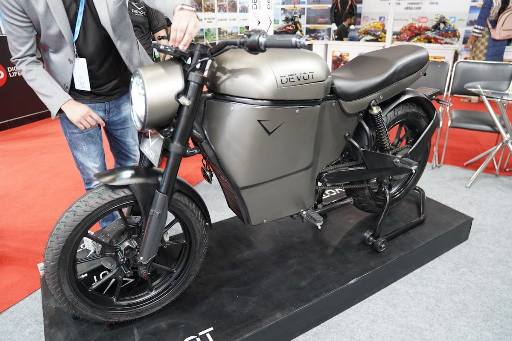 Devot Motorcycle prototype side