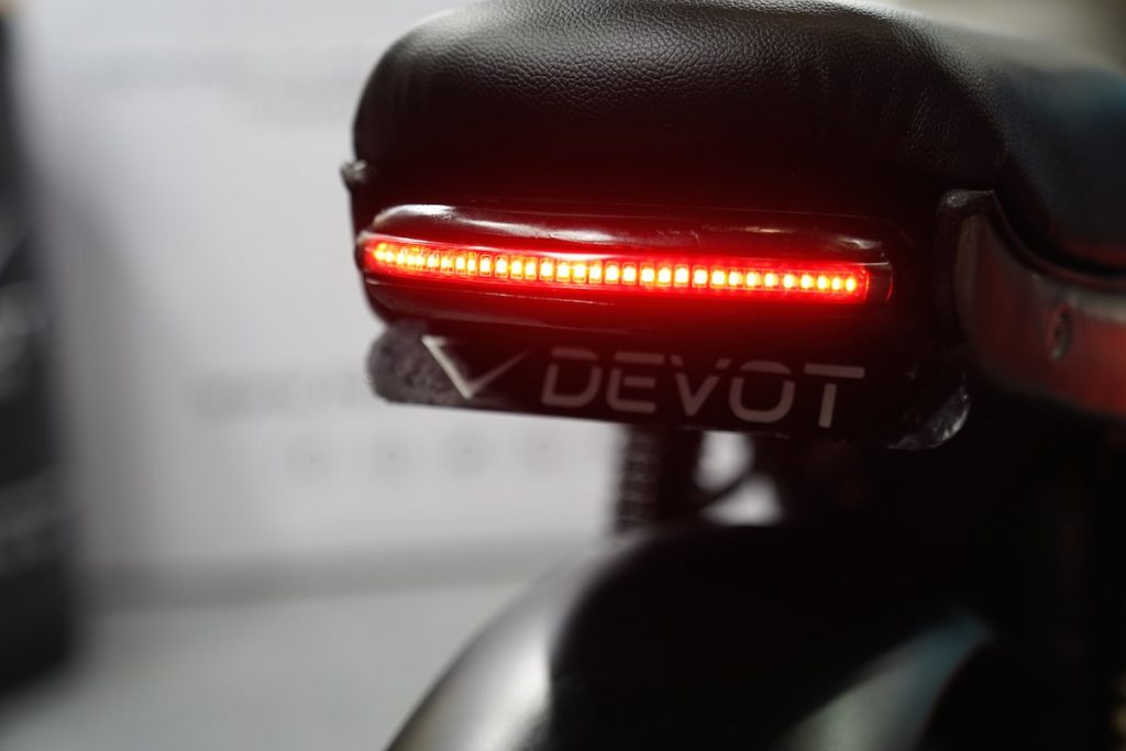 Devot Motorcycle prototype taillight