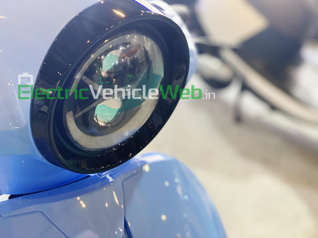 Eeve electric scooter for Auto Expo 2020