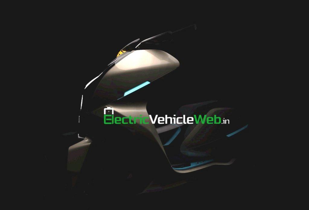 Everve Motors e-scooter teaser 1