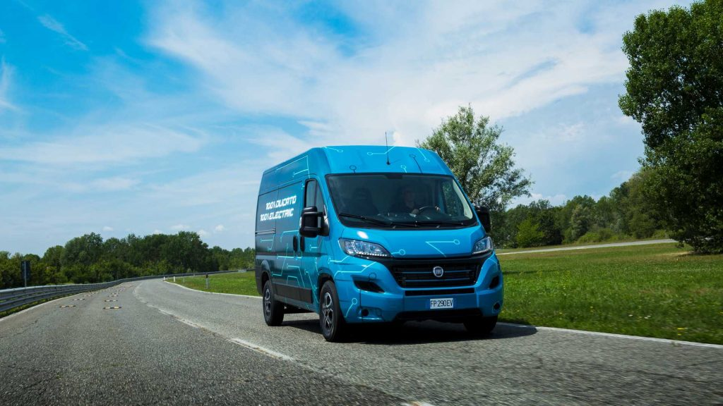 Fiat Ducato electric van