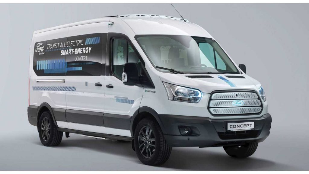 Ford Transit Smart Energy Concept vehicle electric