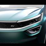 Grille of the Tata Altroz EV concept