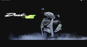 Hero Duet E electric scooter concept Auto Expo 2016