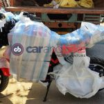 Hero Electric Motorcycle spied 01