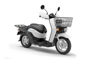 Honda BENLY e scooter front view