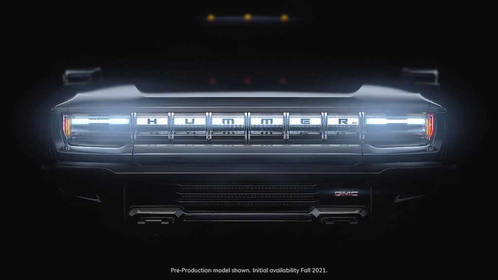 Hummer electric teaser