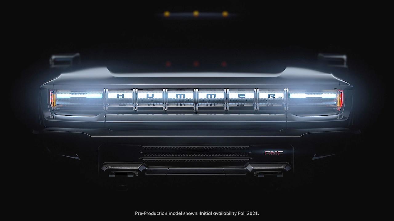 Hummer electric teaser