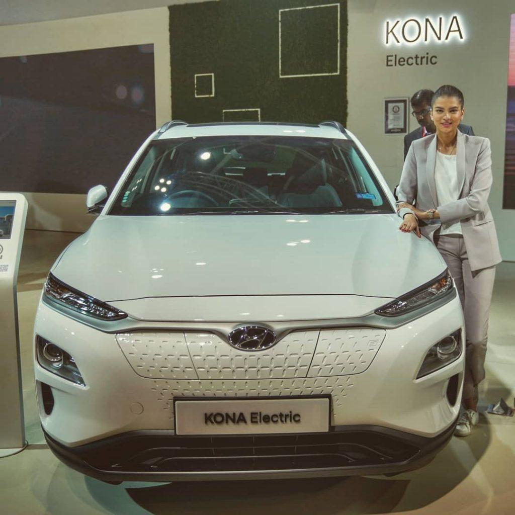 Hyundai Electric Car Kona