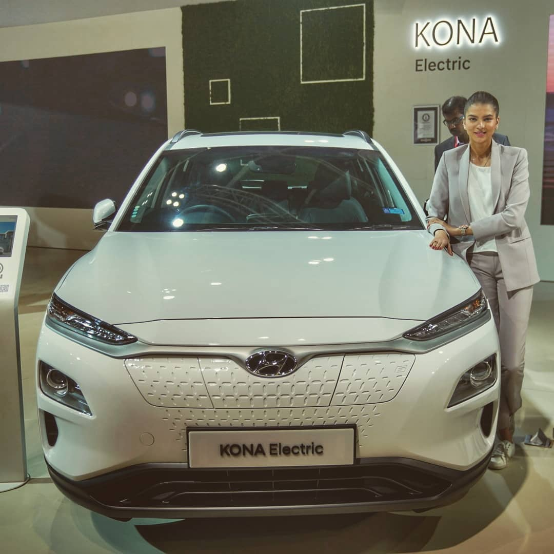 Hyundai Kona 2020 Auto Expo display